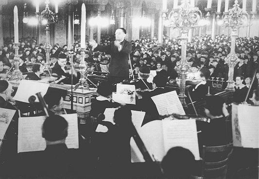 KUBU concert at Oranienburgerstrasse synagogue – Berlin - 1938
